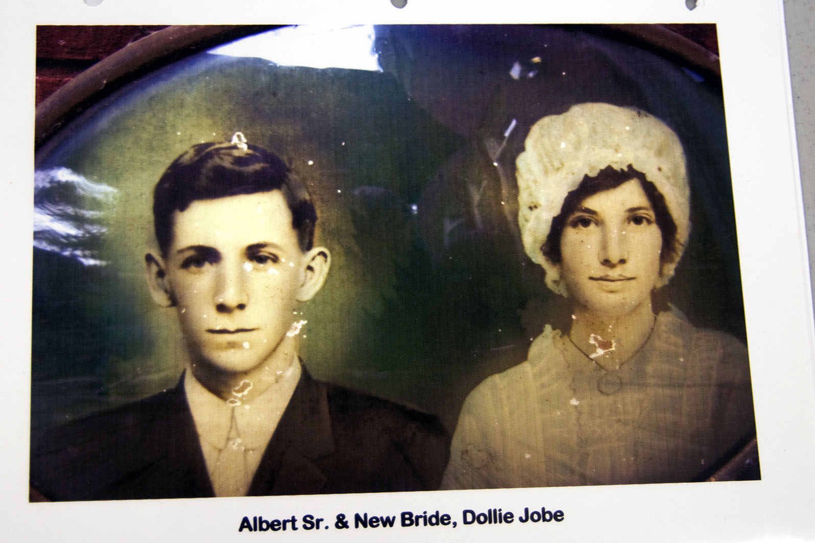 William Albert Cooke and Dollie Violet Jobe